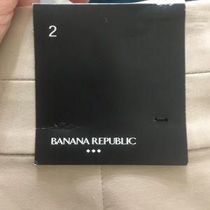 Banana Republic Tan Pencil Skirt Sz 2